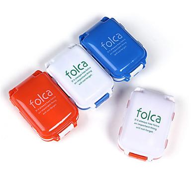 PP (polypropyleen) Voedselklasse materiaal Reispillendoos/houder VochtBestendig waterdicht draagbaar Stofbestendig