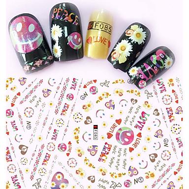 1 Nagelkunst sticker make-up Cosmetische Nagelkunst ontwerp