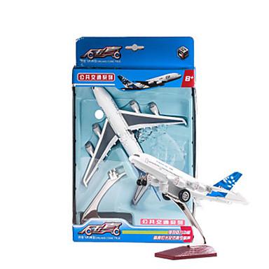 Modellbausätze Aufziehbare Fahrzeuge Flugzeug Spielzeuge Simulation Flugzeug Auto Metalllegierung Stücke Unisex Geschenk