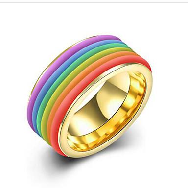 للمرأة خاتم مجوهرات موضة الفولاذ المقاوم للصدأ الصلب التيتانيوم دائري مجوهرات تهاني هدية يوميا فضفاض