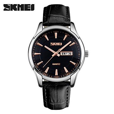 Heren Modieus horloge Polshorloge Unieke creatieve horloge Sporthorloge Dress horloge Smart horloge Chinees Kwarts Kalender