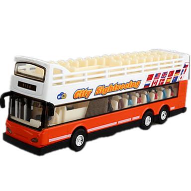 Terugtrekvoertuigen Legervoertuig Speeltjes Trein Bus Dubbeldekker Metaal Stuks Niet gespecificeerd Geschenk