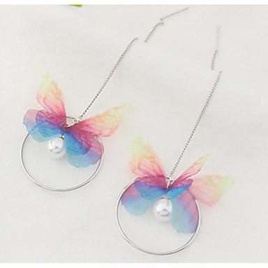 Pentru femei Fete Cercei Picătură Imitație de Perle Design Basic Design Unic Stil Atârnat Perle Cute Stil Euramerican film Bijuterii