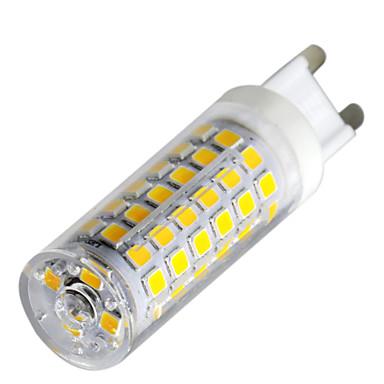 YWXLIGHT® 1kpl 9 W 800-900 lm G9 LED Bi-Pin lamput T 76 LED-helmet SMD 2835 Himmennettävissä Lämmin valkoinen / Kylmä valkoinen / Neutraali valkoinen 220-240 V / 1 kpl