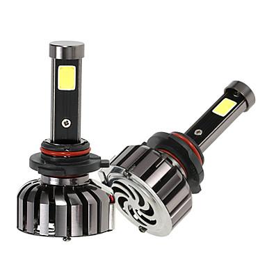 Kkmoon Paar von 9005 hb3 dc 12v 40w 4000lm 6000k LED Scheinwerfer Lampe Kit Glühbirnen