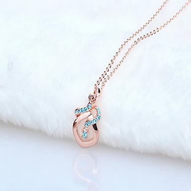Pentru femei Coliere cu Pandativ Bijuterii Heart Shape Bijuterii Ștras Aliaj Design Unic Modă Euramerican Bijuterii Pentru Petrecere Alte