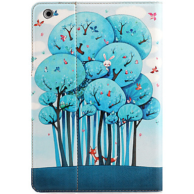 Voor appel ipad mini 3/2/1 met standaard flip magnetisch patroon full body case cartoon boom hard pu leer