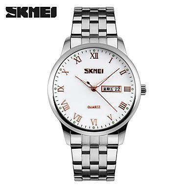 Heren Dress horloge Smart horloge Modieus horloge Polshorloge Unieke creatieve horloge Sporthorloge Chinees Kwarts Kalender