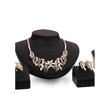 Pentru femei Seturi de bijuterii Ștras Ștras Aliaj Altele Floare Personalizat Vintage Bijuterii Statement Euramerican Modă Nuntă