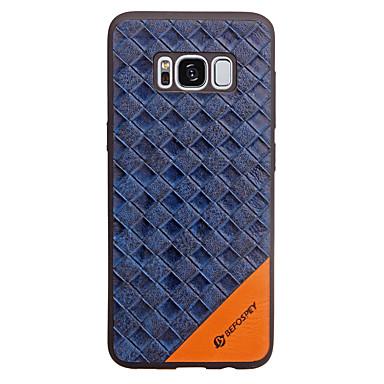 غطاء من أجل Samsung Galaxy S8 Plus S8 مطرز غطاء خلفي نموذج هندسي ناعم جلد PU إلى S8 Plus S8 S7 edge S7 S6 edge S6