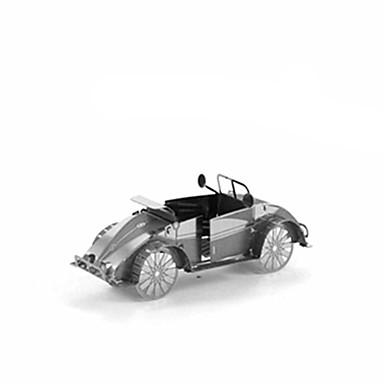 Puzzles 3D - Puzzle Bausteine Spielzeug zum Selbermachen Auto Edelstahl Model & Building Toy