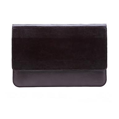 الأكمام إلى MacBook Air 11-inch لون صلب جلد PU مادة