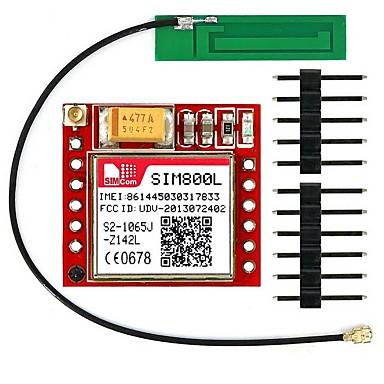 sim800l إيبيكس رباعية الفرقة غرس غسم وحدة اندلاع الجيل الثالث 3G الهوائي