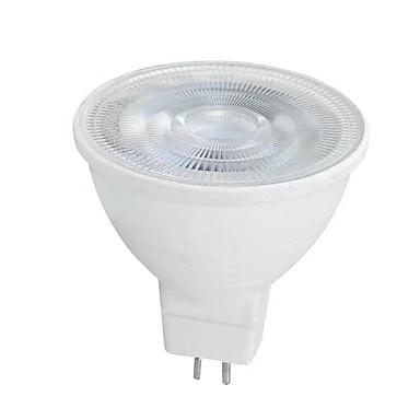 6W GU10 GU5.3(MR16) LED ضوء سبوت MR16 SMD 2835 650 lm أبيض دافئ أبيض AC 220-240 V قطعة