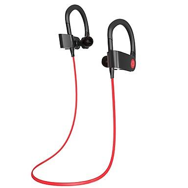 في الاذن الرقبة الفرقة لاسلكي Headphones بلاستيك الهاتف المحمول سماعة مع ميكريفون مع التحكم في مستوى الصوت سماعة