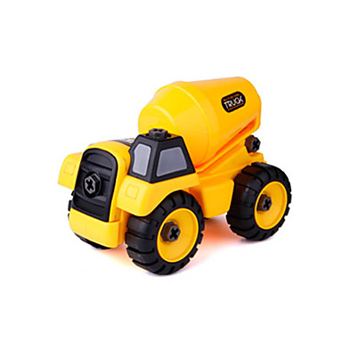 Constructievoertuig Betonmixer Speelgoedtrucks & Constructievoertuigen Speelgoedauto's Muovi Unisex Kinderen Speeltjes Geschenk