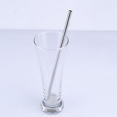 Casual/Dagelijks Glazen en bekers, 1 Roestvast staal Sap Melk Rietjes