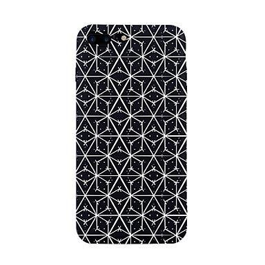 غطاء من أجل Apple iPhone 7 Plus iPhone 7 نموذج غطاء خلفي خطوط / أمواج قرميدة نموذج هندسي ناعم TPU إلى iPhone 7 Plus iPhone 7 iPhone 6s