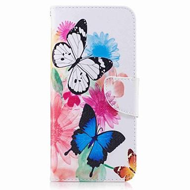 Maska Pentru Samsung Galaxy S8 Plus S8 Titluar Card Portofel Cu Stand Întoarce Model Corp Plin Fluture Greu PU Piele pentru S8 S8 Plus