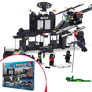 Bausteine Für Geschenk Bausteine Kunststoff 6 Jahre alt und höher 3-6 Jahre alt Spielzeuge