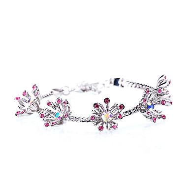 Damen Ketten- & Glieder-Armbänder Schmuck Retro Natur Modisch Handgemacht Strass Aleación Ovale Form Schmuck Für Hochzeit Party
