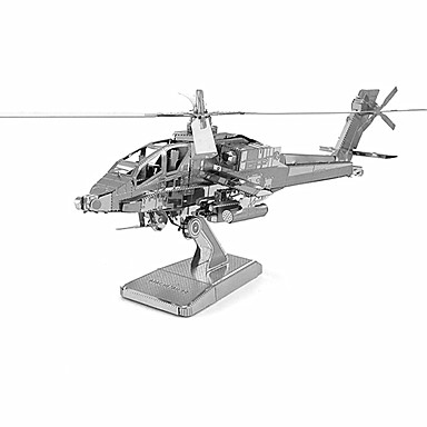 3D - Puzzle Metallpuzzle Spielzeuge Helikopter Metal Unisex Stücke