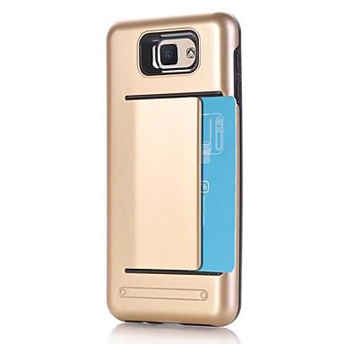 Maska Pentru Samsung Galaxy J7 Prime J5 Prime Titluar Card Anti Șoc Capac Spate Culoare solidă Greu PC pentru J7 Prime J7 (2016) J5 Prime