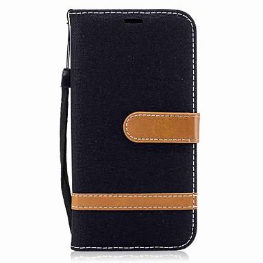 Hülle Für Samsung Galaxy A5(2017) A3(2017) Geldbeutel Kreditkartenfächer mit Halterung Flipbare Hülle Magnetisch Handyhülle für das ganze