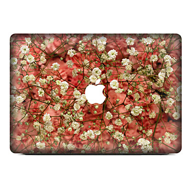 1 Stück Haut-Aufkleber für Kratzfest Blumen Muster PVC MacBook Pro 15'' with Retina MacBook Pro 15 '' MacBook Pro 13'' with Retina