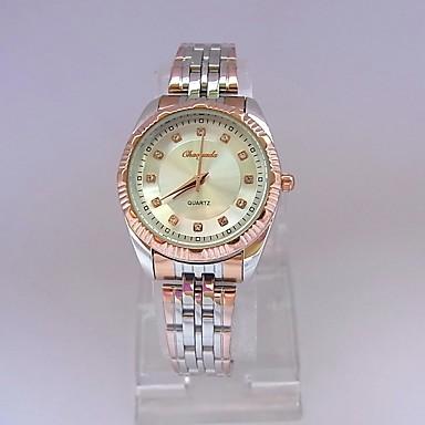 pentru Doamne Ceas Elegant Ceas de Mână Quartz Oțel inoxidabil Bandă Vintage Argint Roz auriu