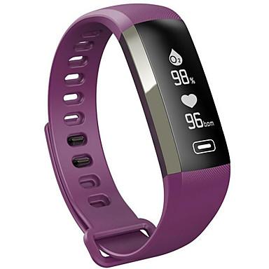 Smart Armband Aanraakscherm Hartslagmeter Verbrande calorieën Stappentellers Logboek Oefeningen Camera Afstandsmeting Informatie