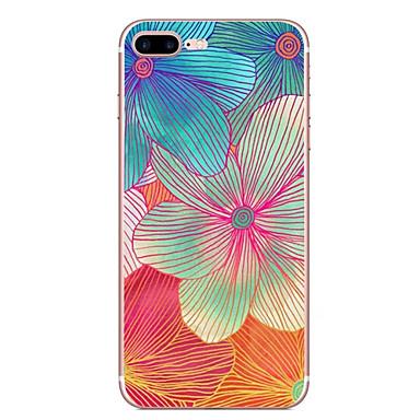 Für Apfel iphone 7 7 plus 6s 6 plus Fallabdeckungs-Blumenmuster hd gemaltes tpu materielles weiches Falltelefonkasten