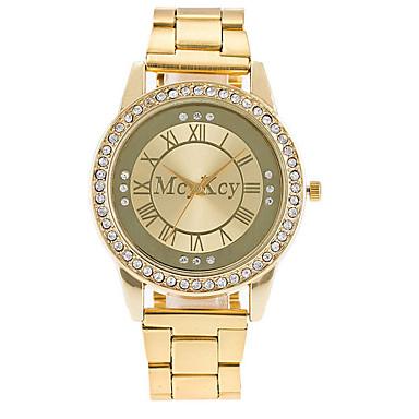 Heren Dress horloge Modieus horloge Chinees Kwarts Legering Band Luxe Informeel Elegant Zilver Goud Goud Rose