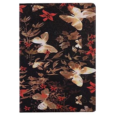 Für Hüllen Cover Kreditkartenfächer mit Halterung Flipbare Hülle Muster Smart Touch Handyhülle für das ganze Handy Hülle Schmetterling