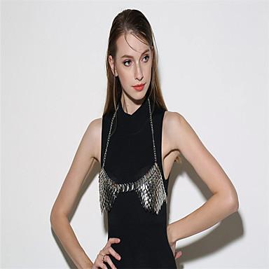Pentru femei Bijuterii de corp Corp lanț / burtă lanț Modă Punk Aliaj Geometric Shape Bijuterii Pentru Petrecere Ocazie specială Casual