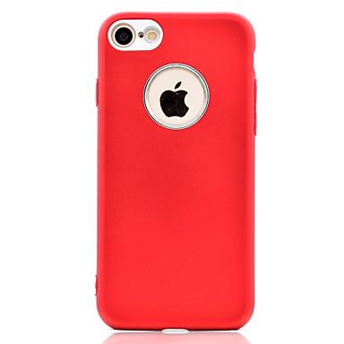 Voor iphone 7 7 plus telefoon hoesje olie oppervlak tpu plating knop en camera metalen bescherming zachte telefoon hoesje 6s plus 6 plus