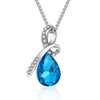 Dames Hangertjes ketting Sieraden Sieraden Kristal Strass Legering Modieus Euramerican Sieraden Voor Feest Speciale gelegenheden
