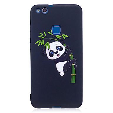 Für huawei p8 lite (2017) p9 lite Fallabdeckung Panda Muster gemalt geprägtes Gefühl tpu weichen Fall Telefon Fall p10 lite p10 y5 Ehre 6x