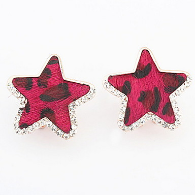 Dames Oorknopjes Druppel oorbellen Ring oorbellen Bergkristal Basisontwerp Uniek ontwerp Logostijl Parel Cirkel Vriendschap Doe-het-zelf