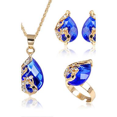 Pentru femei Seturi de bijuterii Acrilic Modă Euramerican Petrecere Aliaj Animal 1 Colier 1 Pereche de Cercei 1 Brățară 1 Inel