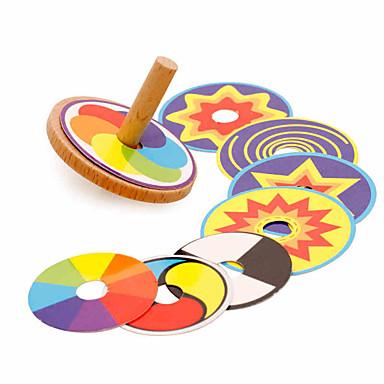 Kreisel Büro Schreibtisch Spielzeug Stress und Angst Relief Hölzern Retro Stücke Kinder Geschenk