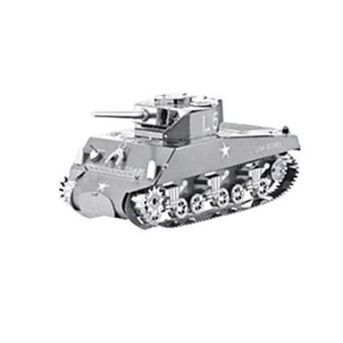 3D-puzzels Legpuzzel Modelbouwsets Tank Oorlogsschip Vliegtuig 3D DHZ Roestvast staal Metaal