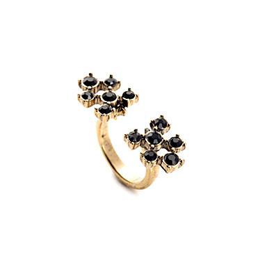 Dames Ring Modieus leuke Style Eenvoudige Stijl Legering Sieraden Voor Bruiloft Feest Verjaardag