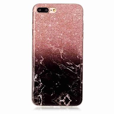 Pentru iPhone X iPhone 8 Carcase Huse IMD Carcasă Spate Maska Marmură Moale TPU pentru Apple iPhone X iPhone 8 Plus iPhone 8 iPhone 7