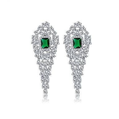 Pentru femei Cercei Set Bijuterii Design Unic La modă Euramerican Cristal Zirconiu Aliaj Bijuterii Bijuterii PentruNuntă Zi de Naștere