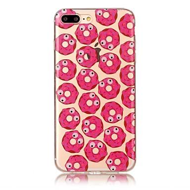Pentru iphone 7 7 plus copertă de caz transparent model spate acoperire caz alimente tpu moale pentru iphone 6s 6 plus 6s 6 se 5s 5 5c