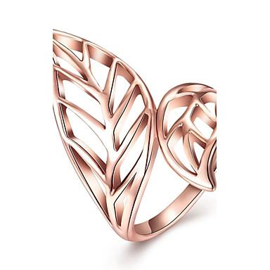 Damen Ring Schmuck Personalisiert Luxus Geometrisch Einzigartiges Design Tattoo Stil Retro Böhmische Grundlegend Herz Natur Freundschaft
