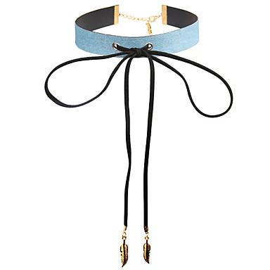Pentru femei Altele Modă Euramerican Coliere Choker Bijuterii Piele  Aliaj Coliere Choker . Petrecere Ocazie specială