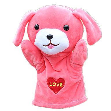 Poppen Handpop Honden Schattig Pluche stof Pluche Kinderen Geschenk