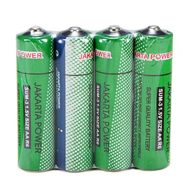 jakarta 4pcs de înaltă calitate sumă-3 1.5v aa r6 baterie reîncărcabilă